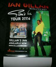 Ian Gillan Gillan's Inn 11x17 2006 Usa Offical Tour Poster Deep Purple Singer