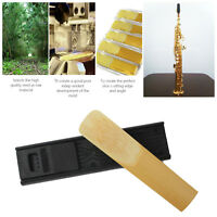 2Pcs Plastic Alto / Tenor Saxophone Reed Clips with Case Reed Holder Organiser