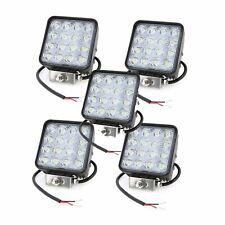 5X 48W LED LUCE FARO 12V LAMPADA DA LAVORO FARETTO AUTO BARCA CAMION KLW SUV