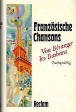 Rieger, Frankreich Chansons v. Beranger bis Barbara, französisch + deutsch, 1987