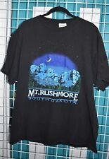 Mt. Rushmore South Dakota vintage t-shirt Big black 90s 100% cotton Womens Mens