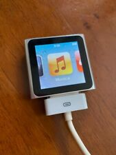 Apple Ipod Nano 6th Generazione Argento 8Gb