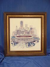 Print scetch Three Rivers Stadium  J Howard Miller graphic Rosie the Riveter Art
