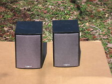 A Pair iSymphony Two Way Mini 4 1/2'' woofer 4 ohm Speaker systems In Good Cond!