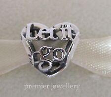 Authentic Genuine Pandora Silver Disney Let It Go Open Heart Works Charm 791596