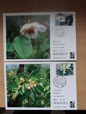 China 1986 Sep 23 Magnolias Rare set of 3 Maximum Cards MC5