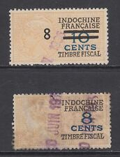 Indo-China Bft 54, 130 used 1928-32 General Fiscals