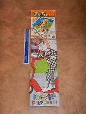 1988 Pee-Wee'S Playhouse Kite - New Old Stock - Factory Sealed - Pee-Wee Herman