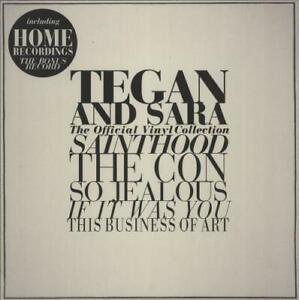 TEGAN AND SARA THE OFFICIAL VINYL COLLECTION RARE   LP