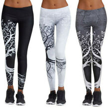 Women's Printed Sports Yoga Workout Gym Fitness Exercise Athletic Ladies Pants