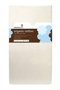 Naturepedic No Compromise Organic Cotton Classic150 Dule Crib Mattress MC32 #33