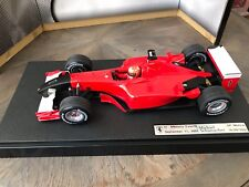 "F1 Ferrari F2001, GP Monza 2001, Schumacher ""Version Attentats 11 Sep 2001"" 1/18"
