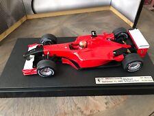 "F1 Ferrari F2001, GP Monza 2001, Schumacher ""Version Attentats 11 Sep 2001"" 1/18"