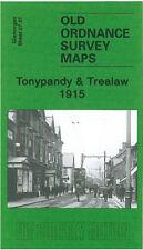 OLD ORDNANCE SURVEY MAP TONYPANDY & TREALAW 1915
