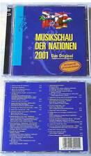 Musikschau der Nationen 2001 Militärkapellen .DO-CD OVP