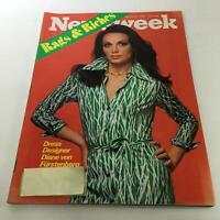 Newsweek Magazine: March 22 1976 - Diane von Furstenberg: Rags & Riches