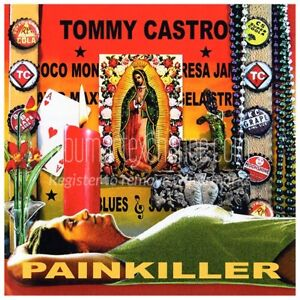 Painkiller [180g LP] by Tommy Castro (Vinyl, May-2008, Blind Pig Records)