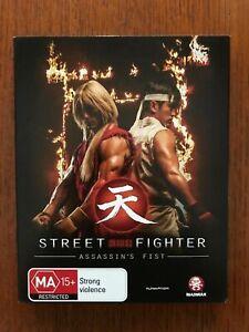 Street Fighter: Assassin's Fist Blu-ray Region B Disc VGC
