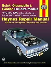 Haynes Oldsmobile Delta 88 Brougham 70-85 propriétaires Service Repair Manual Manuel