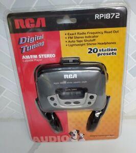 Vintage RCA Digital Am/Fm Stereo Cassette Player RPI872 NOS Brand New Sealed