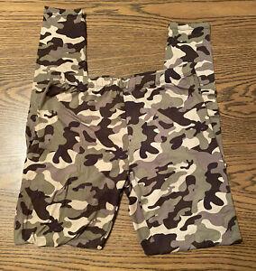 Womens Size M Bobbie Brooks Stretch Skinny Camouflage Leggings NWOT