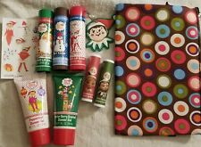Elf on the Shelf lip & other items in a bag~Rare Vintage Collectible