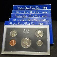 1968-1969-1970-1971-1972-1983 S U.S Mint Proof Sets 6 Blue Box Lot