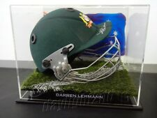 ✺Signed✺ DARREN LEHMANN Cricket Helmet PROOF COA Australia 2018 Shirt Jersey