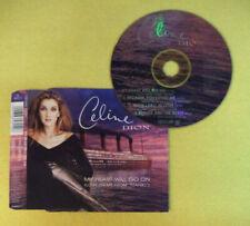 CD Singolo CELINE DION My heart will go on TITANIC 1997 SONY no mc dvd lp(S34)