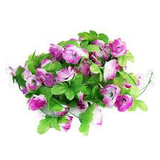 "7.5 ""hoja Artificial seca Flor Hiedra boda guirnalda plantas follaje"