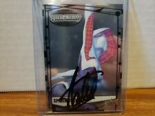 Spider Gwen Marvel Upper Deck trading card signed by Stan Lee COA