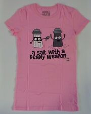 David and Goliath A Salt With A Deadly Weapon T-shirt Size Small