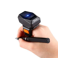 Eyoyo Wireless Finger Ring 2D Barcode Scanner Bluetooth Reader for Android iOs