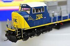 ATHEARN GENESIS CSX SD70MAC  #700 HO Diesel Locomotive G6407 Blue Gray Yellow
