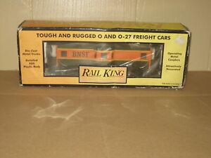 MTH Rail King  BNSF Bay Window Caboose Item # 30-7718 Road Name # 12112