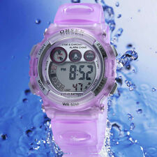 OHSEN Lovely digital Watch for girls purple alarm from Mel