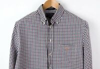GANT Men Andrews Twill Casual Fit Check Casual Shirt Size M TZ604