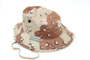 CHOCOLATE CHIP JUNGLE HAT MADE IN USA