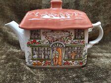 Vintage Sadler Ye Olde Tea Pot Inn Teapot 32 Oz