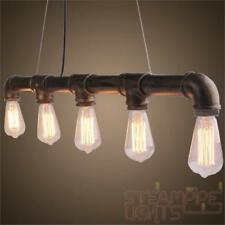 Vintage Light Ceiling Pendant SteamPunk Hanging Kitchen Island Dining Table Room
