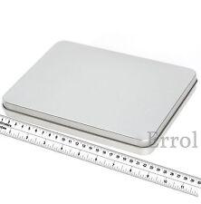 "Large Empty Pencil Tin Many Uses 22cm x 16cm x 2.5cm (8¾"" x 6¼"" x 1"") Holds A5"