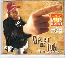 (GM495) Lotto King Karl, Da Ist Die Tür (Hey, Mr. Platten Mann) 1996 CD