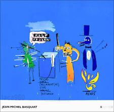 Jean Michel BASQUIAT Dingoes Offset Lithograph Print 38-1/2 x 39-1/2