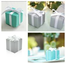25x TIFFANY PARTY BABY SHOWER CHRISTENING WEDDING FAVOUR BONBONNIERE BOXES