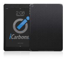 iPad Air Skin - Black Carbon Fibre skin by iCarbons