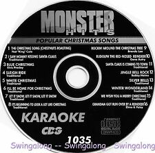 Monster Hits Karaoke CD+G vol-1035/ Christmas Song,Santa Claus Is Coming To Town