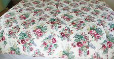 Ralph Lauren-Elaine Pattern-Rare-Full/Queen Comforter-Beautiful Roses! Heavy