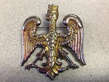 ANTIQUE B. BLUMENTHAL POLISH COAT OF ARMS SIGNED BROOCH/PENDANT