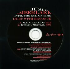 Justin Timberlake UNTIL THE END OF TIME w/Beyonce (Promo Maxi CD Single) (2007)
