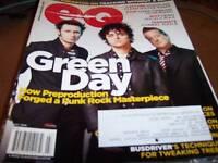 EQ Magazine July 2009 Green Day